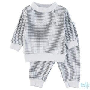 Feetje Wafel Pyjama Marine