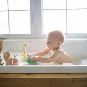 Tikiri Mijn eerste zoodiertje bad/Bijtspeeltje Giraf