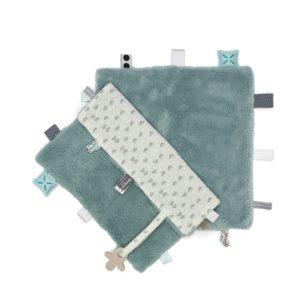 Snooze Baby Comfort toy/knuffeldoekje, sweet dreaming Gray mist