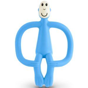 Matchstick Monkey bijtring licht blauw
