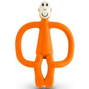 Matchstick Monkey bijtring oranje