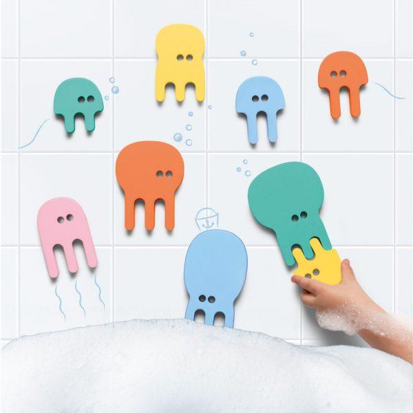 Quutopia badspeeltjes Jellyfish onderstebovenpuck