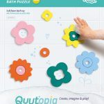 Quutopia Badpuzzel Flower Power Bath Puzzel