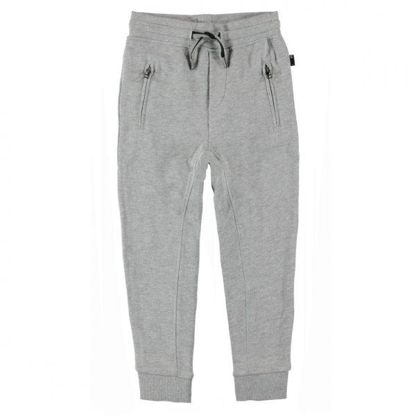 molo ash grijze broek jogging broek grey melange