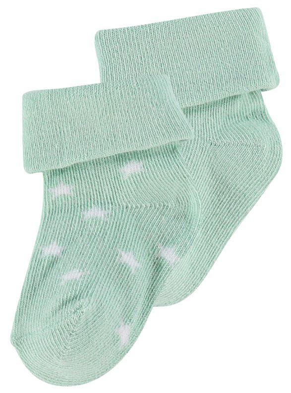 Noppies Socks 2 pack Grey Mint