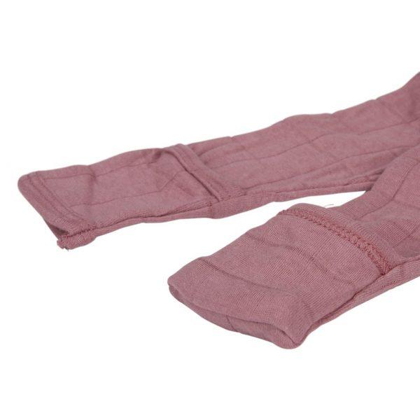 slaapzak hydrofielkrapwantjes solid plush oud roze