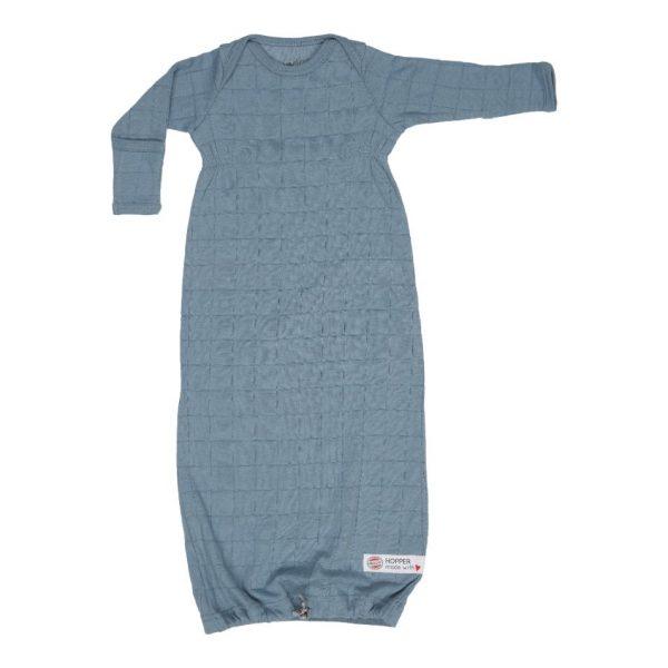 lodger newborn slaapzak hydrofiel solid ocean blauw