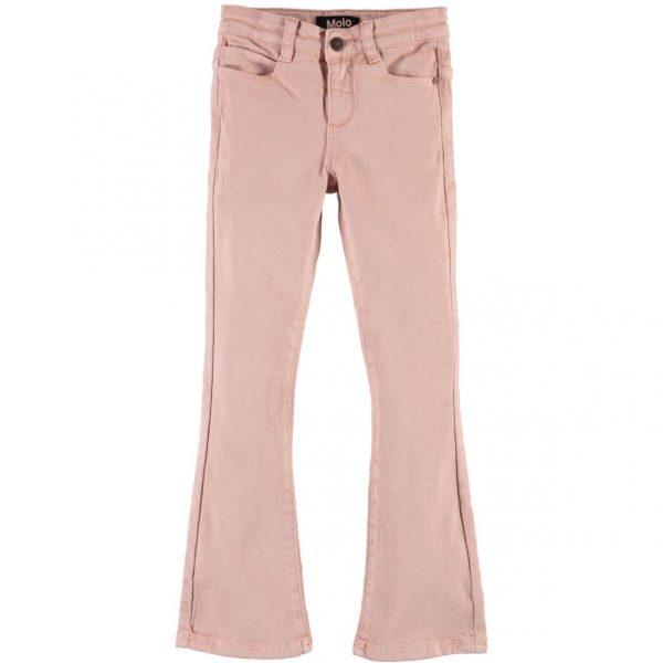 molo aliza roze flared spijkerbroek