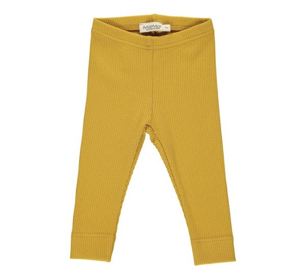 marmar legging modal oker geel zomer 2020