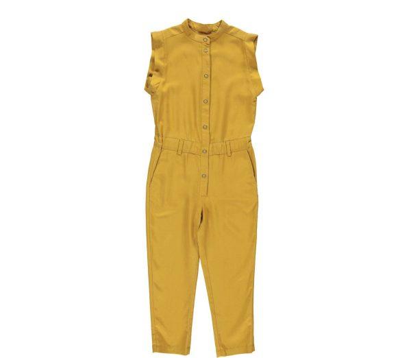 marmar ruthie jumpsuit oker geel