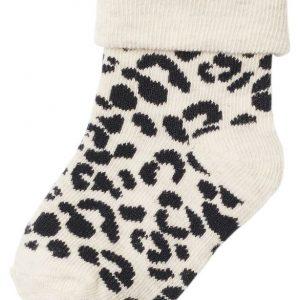 Noppies Hat Sock 2pak Blanquillo Girl Oatmeel