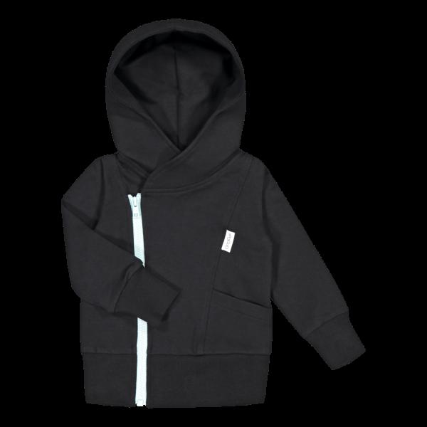 Gugguu College hoodie Black/Blue bell