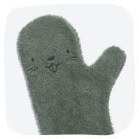 Invented4Kids Babyshower Glove Bever Donker Groen