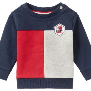 noppies sweater collinsville rood wit blauw