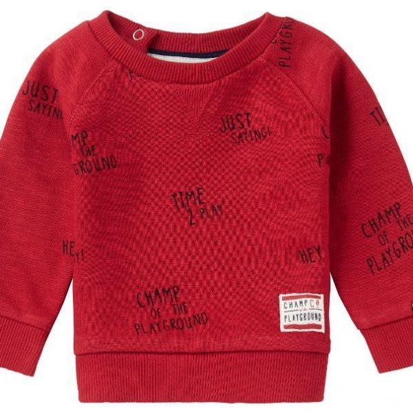 noppies sweater springs rood