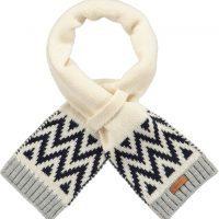 barts roemi sjaal creme wit