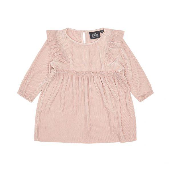 petit sofie schnoor roze rimpel jurk