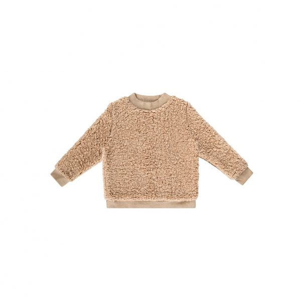 house of jamie teddy sweater cream oatmeal