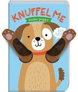 knuffel me kleine puppy