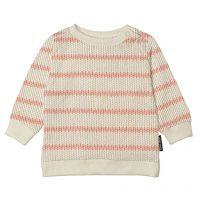 snurk breton roze streep trui sweater