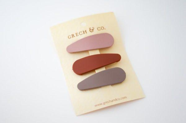 grech & co haarclips 3 pack