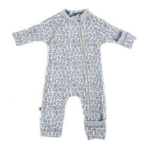 SmallStuff Jumpsuit Merino Wool Leopard