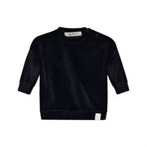 I Dig Denim Ash Velour Sweater Black