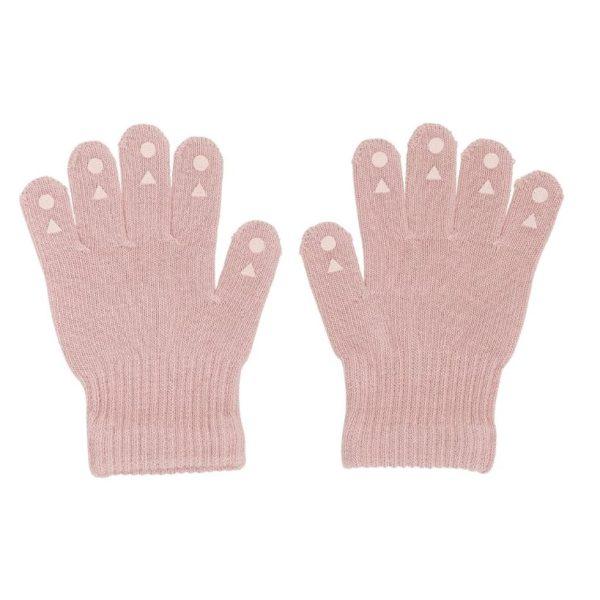 Go Baby Go Grip Gloves Dusty Rose