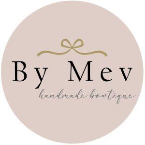 by mev logo haaraccessoires leren haarspeldjes