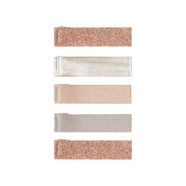 Mimi & Lula Nude Sparkle Glitter Clips