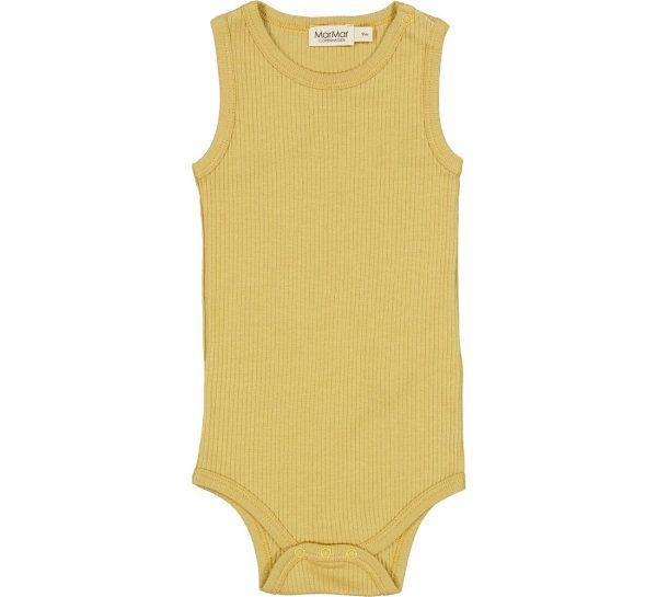 marmar hemd romper modal hay geel