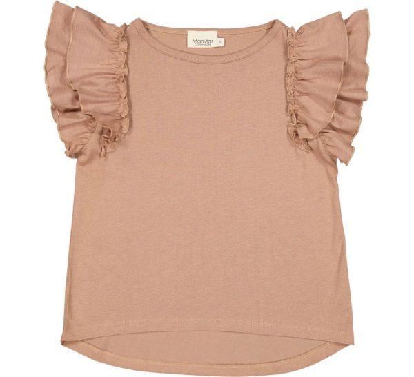 MarMar Tavora Frill T-Shirt Almond