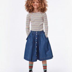 Molo Bolette Skirt Washed Indigo
