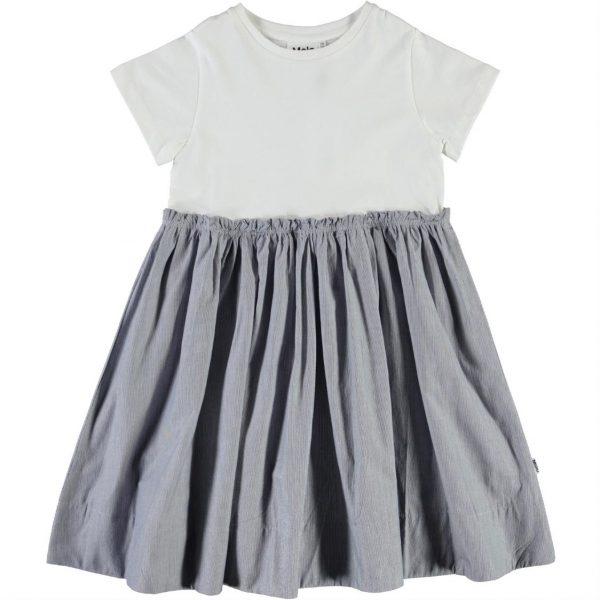 Molo Chey Dress White