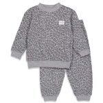 Feetje Wafel Pyjama Antraciet Fashion Edition