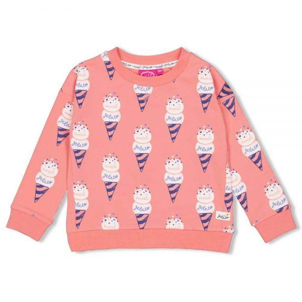 Jubel Sweater AOP Sweet Gelato