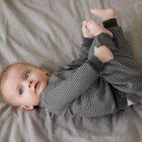 Feetje Wafel Pyjama Antraciet Autumn Special