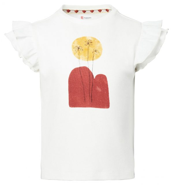 Noppies T-Shirt SS Lotherton Snow White