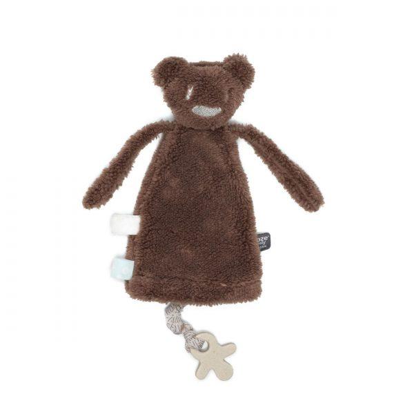 Snooze Baby Knuffel/Handpopje/Speendoekje Maddy Monkey Muddy River