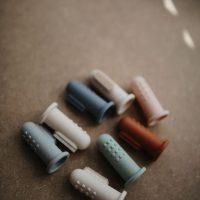 Mushie Tandenborstel Sand/Cambridge Blue