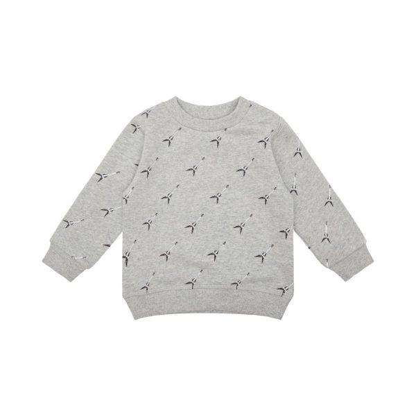 Petit Sofie Schnoor Sweater Grey Melange