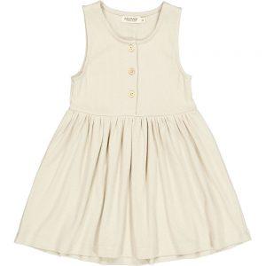 MarMar Dova Modal Fine Rib Dress White Sage