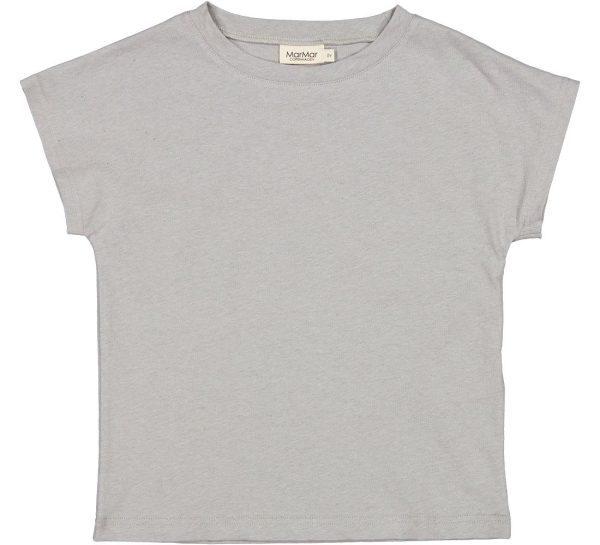 MarMar Tove Linnen T-Shirt Chalk Melange