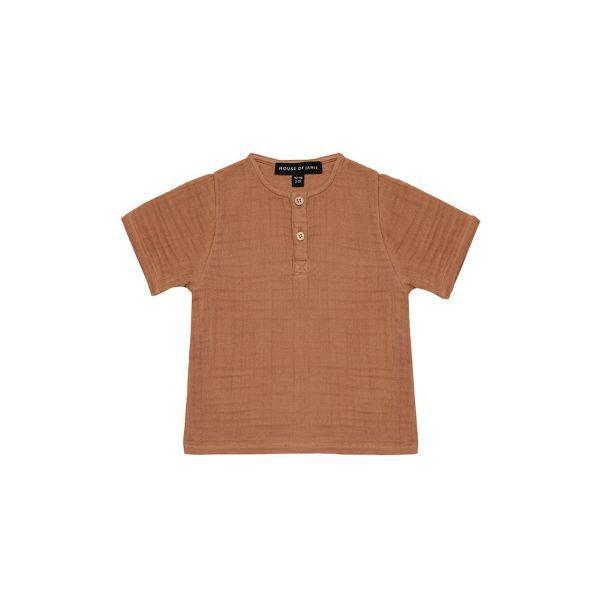 House Of Jamie Henley Shirt Burnt Ginger
