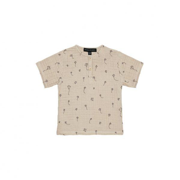 House Of Jamie Henley Shirt Oatmeal Kites