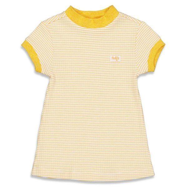 Feetje Nachthemd wafel Okergeel
