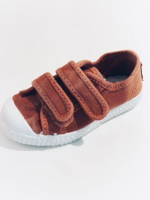 Cienta Sneaker Klittenband Terra/Cangrejo