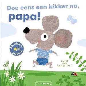 Doe eens een Kikker na Papa (geluidenboek)