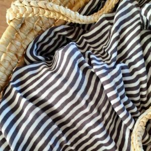 Sweet Little Crown Bamboo Swaddle XL – The Stripes