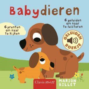 Geluidenboek Babydieren